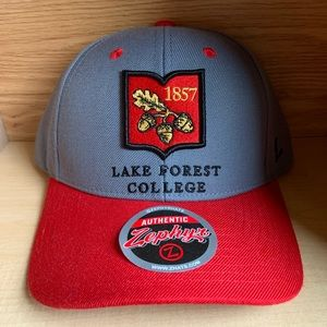 Lake Forest College Zephyr Hat 1857 University Cap